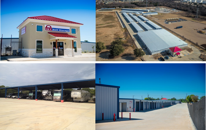 """Andover Properties Closes on """"157 Self Storage"""" in Euless, TX"""